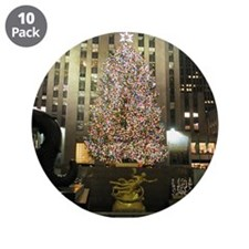 """Christmas in the City 3.5"""" Button (10 pack)"""