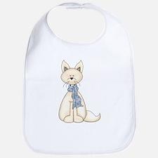 White Fox Bib