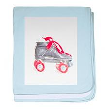 Roller Skate Baby Blanket