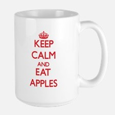 Keep calm and eat Apples Mugs