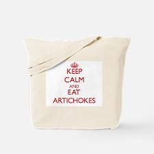 Keep calm and eat Artichokes Tote Bag