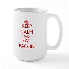 Keep calm and eat Bacon Mugs