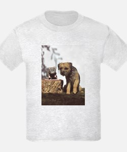 Border Terrier and Rat T-Shirt