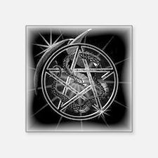 """Wiccan Starlight Square Sticker 3"""" x 3"""""""
