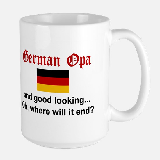 German Opa-Good Lkg Mugs