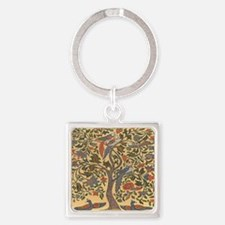Celtic Tree of Life Square Keychain