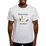 Skijoring Dog Junkie Light T-Shirt