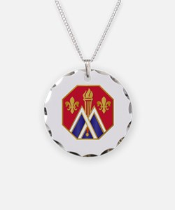 DUI - 89th Infantry Division Necklace