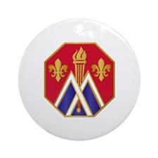 DUI - 89th Infantry Division Ornament (Round)