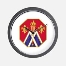 DUI - 89th Infantry Division Wall Clock