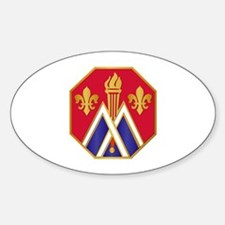 DUI - 89th Infantry Division Sticker (Oval)