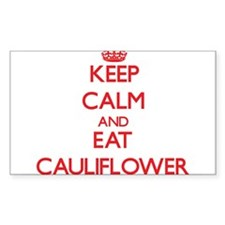 Keep calm and eat Cauliflower Decal