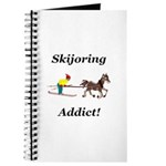 Skijoring Horse Addict Journal