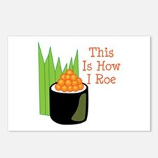 This Is How I Roe Postcards (Package of 8)