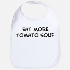 Eat more Tomato Soup Bib