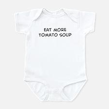 Eat more Tomato Soup Infant Bodysuit