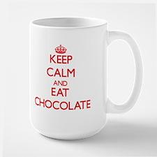 Keep calm and eat Chocolate Mugs