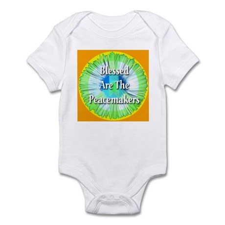 Blessed Are The Peacemakers Infant Bodysuit