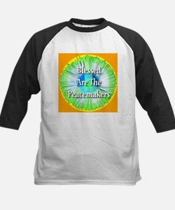 Blessed Are The Peacemakers Kids Baseball Jersey