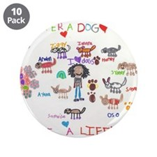 """Foster Drawing.jpg 3.5"""" Button (10 pack)"""