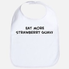 Eat more Strawberry Guava Bib