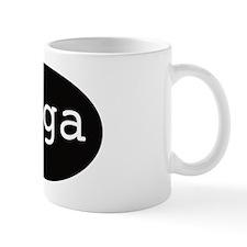 om yoga Mug