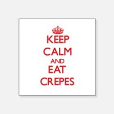 Keep calm and eat Crepes Sticker