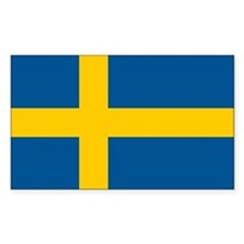 Sweden Flag Decal