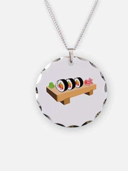 Sushi Japanese Food Necklace