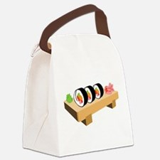 Sushi Japanese Food Canvas Lunch Bag