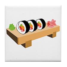 Sushi Japanese Food Tile Coaster