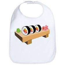 Sushi Japanese Food Bib
