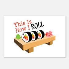 This Is How I ROLL Postcards (Package of 8)