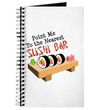 Point Me To The Nearest SUSHI BAR Journal