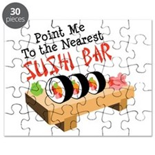 Point Me To The Nearest SUSHI BAR Puzzle
