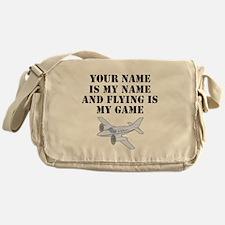 Flying Is My Game (Custom) Messenger Bag
