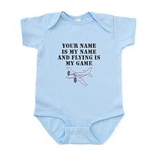 Flying Is My Game (Custom) Body Suit