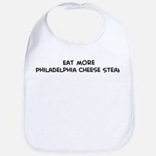 Eat more Philadelphia Cheese  Bib