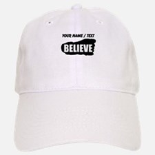 Custom Believe Bigfoot Footprint Baseball Baseball Baseball Cap