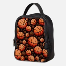 Basketball Neoprene Lunch Bag