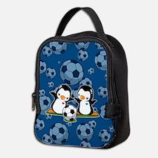 Penguins Neoprene Lunch Bag