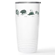 Cute Fire pig Travel Mug