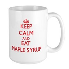 Keep calm and eat Maple Syrup Mugs