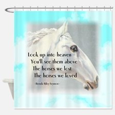 The Horses We Love Shower Curtain