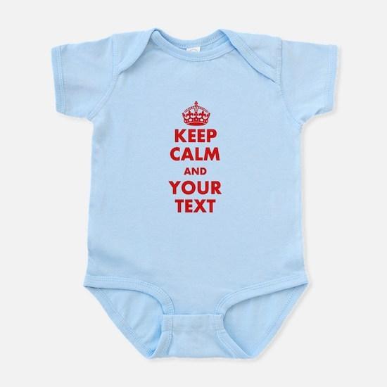 Custom Keep Calm Body Suit