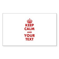 Custom Keep Calm Decal