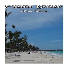 dominican republic Tile Coaster