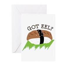 GOT EEL? Greeting Cards