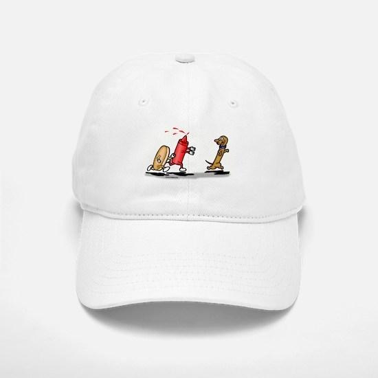 Run Wiener Dog! Baseball Baseball Cap
