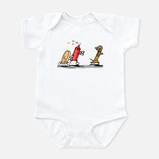 Run Wiener Dog! Infant Bodysuit